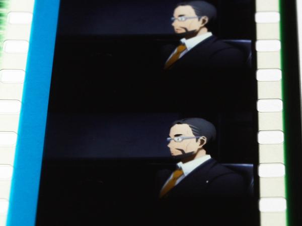 劇場版 SAO ソードアート・オンライン 重村教授 ユナの父親 キリトと面談? 35mmフィルムコマ 5週目 来場者特典_画像1