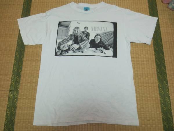 90s USA製 NIRVANA ニルヴァーナ ヴィンテージ Tシャツ カートコバーン 検 SONIC YOUTH Mudhoney Fugazi PEARL JAM SUB POP