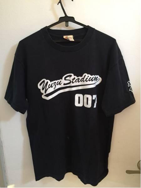 ゆず スタジアム ツアー Tシャツ スタッフ YUZU THE MID SUMMER 黒 ライブグッズの画像