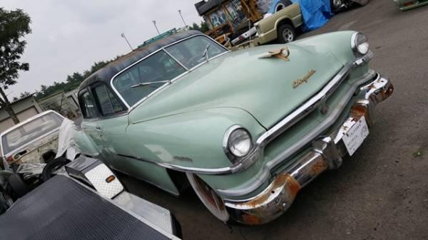 売切!1952クライスラーウィンザー マーキュリーボムベルエアシェビーフリートラインスタイルラインシューボックスビュイックマスターDX