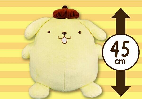 ポムポムプリン プリン BIG 大きい ぬいぐるみ サンリオ キキララ キティ グッズの画像