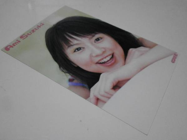 新品未使用 鈴木亜美 ポストカード ハガキ はがき 葉書