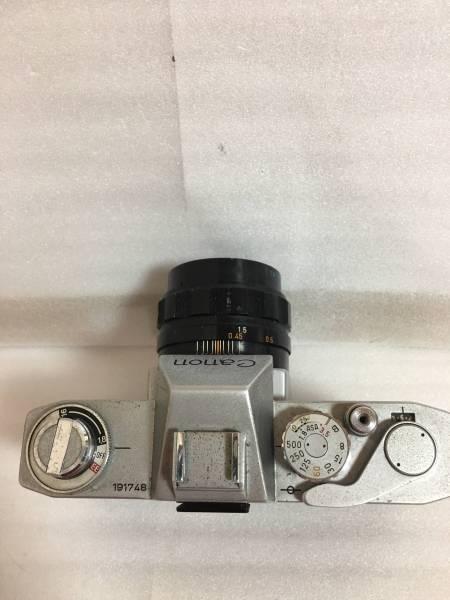 キャノン EX EE+EX50mmF1.8 現状_画像2