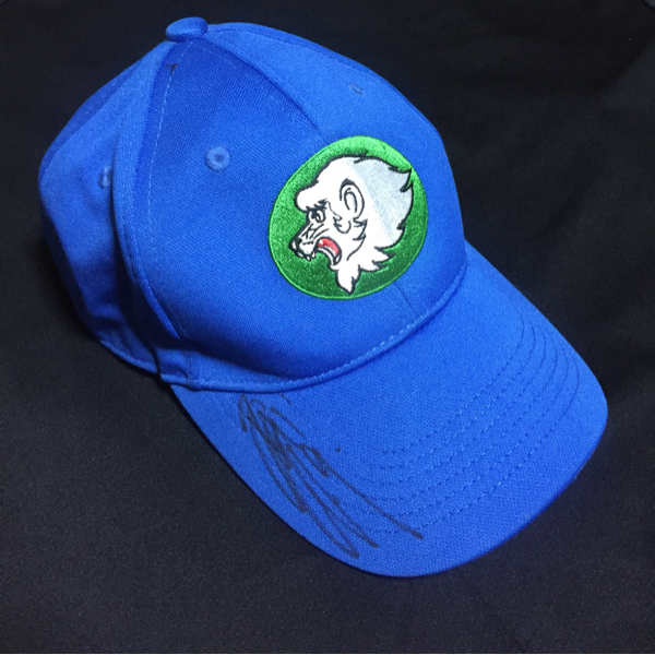 西武ライオンズ 赤田将吾選手 直筆サイン入り 帽子 背番号9 グッズの画像