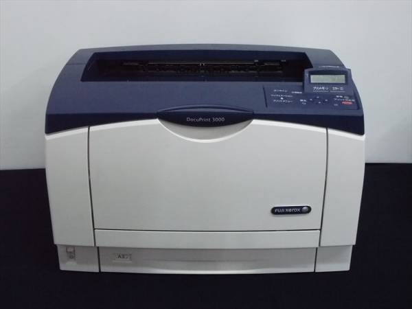印刷枚数1280枚 FUJIXEROX 富士ゼロックス DocuPrint3000 A3レーザープリンタ_画像1