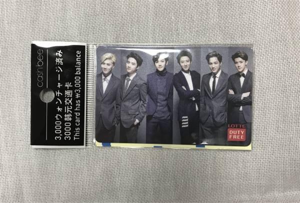 Cashbee■韓流スターEXO-K■ソウルの地下鉄や市内バス、コンビニなどで利用できる交通カード