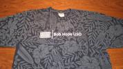 【USO】BOB HOPE ロサンゼルス空港 LAX-USO 米軍向け慰問団 支援娯楽提供 非営利組織 Tシャツ サイズXL ハワイアン アロハ柄