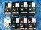 新品未使用 CASIO カシオ ネームランド カートリッジ 白テープ 6mm 18mm 24mm 8個