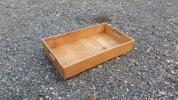 木味いい♪持ち手のある木箱B 古道具/アンティーク/ブロカント/ガーデニング/インダストリアル/カフェ/収納/整理/BOX/ケース