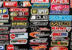 合計98枚 レーシングステッカーUSDMキャリーバッグ車シールオートバイデカールアメ車世田谷ベース