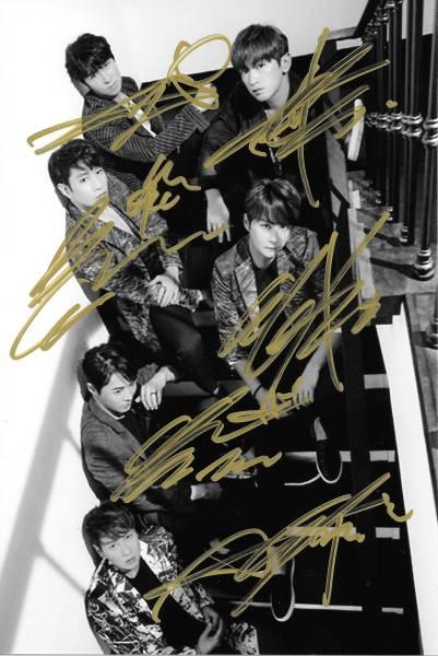 16.12★神話 Shinhwa★「 UNCHANGING」全員直筆サイン入り 公式生写真 547