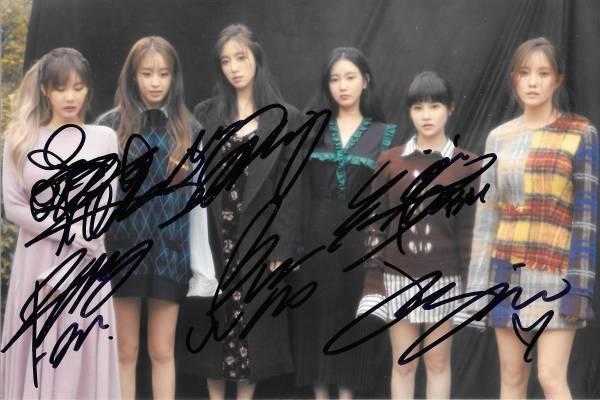 16.11★T-ara★TARA「Remember」全員直筆サイン入り公式写真 575