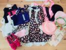 新品 LULUDYルルディ♪ワンピースドレス アクセサリ 靴 バッグ等 18点セット♪160サイズ 総額133400円