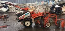 秋田発 動画あり 農機具 管理機 クボタTA6 平畝マルチ・FML150 爪正転/逆転 実働良品