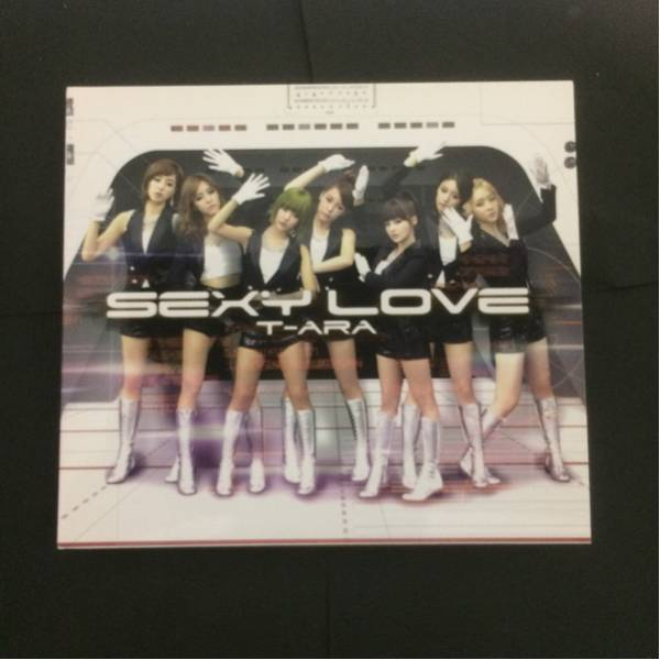 【T-ARA】5th Single-Sexy Love(Japanese ver.)CD1組。DVD1組。トレカ付。