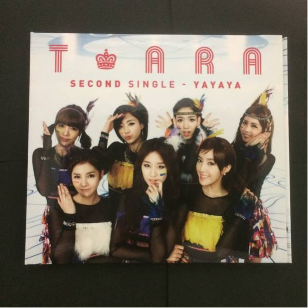 【T-ARA】Second Single-yayaya(Japanese ver.)CD1組。DVD1組。トレカ付き。