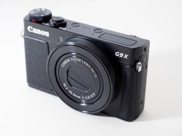 【中古美品】Canon「PowerShot G9 X Mark II」コンパクトデジタルカメラ(ブラック)