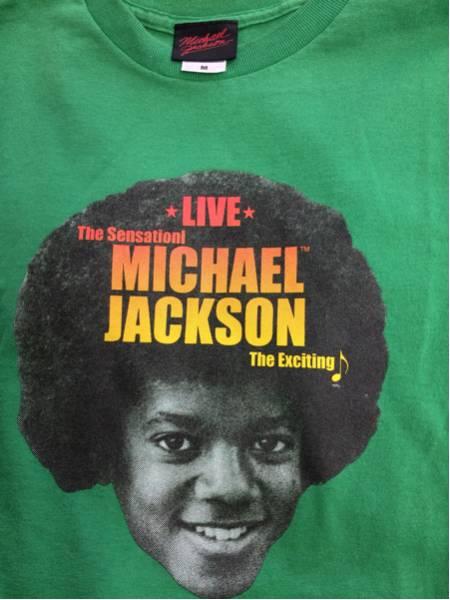 MICHAEL JACKSON マイケルジャクソン ジャクソンファイブ 半袖Tシャツ M 送料無料 ライブグッズの画像