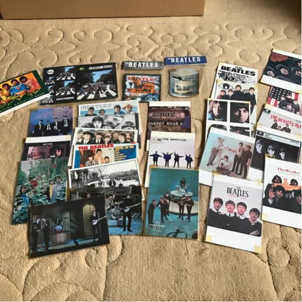 ★The Beatles ビートルズ ポストカード ステッカーセット★ ライブグッズの画像