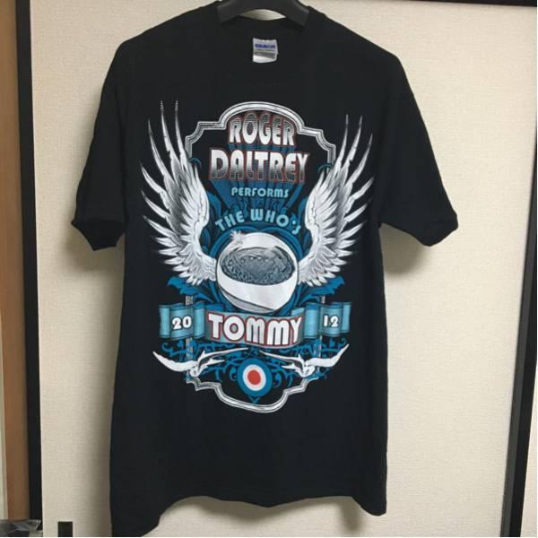 ザ・フー the who ロジャー・ダルトリー roger daltrey バンド tシャツ ツアー 来日 ライブ トミー tommy ロック・オペラ 古着 2012