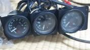 オオモリ φ52追加メーター 水温油温油圧 ジャンク品