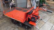 小型クローラ運搬車 サトー製作所 剛力 SC115D 整備済み 直ぐ使えます