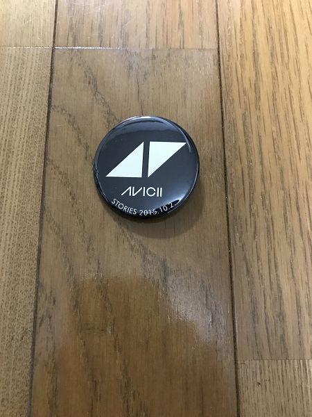 Avicii Stories 購入特典缶バッジ アヴィーチー ストーリーズ