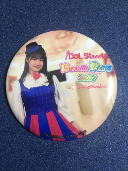 GEM 南口奈々 iDOL Street Dream Party 2017 in サンリオピューロランド DREAMスタンプ企画景品 缶バッチ