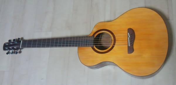 ルシアー不詳 ハンドメイドギター