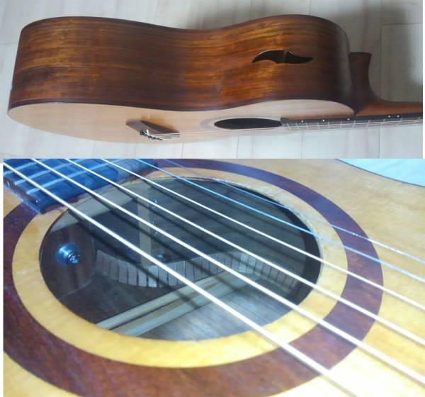 ルシアー不詳 ハンドメイドギター_画像3