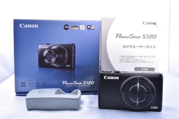★新品同様級★キャノン CANON PowerShot S120 ★高級★ #212