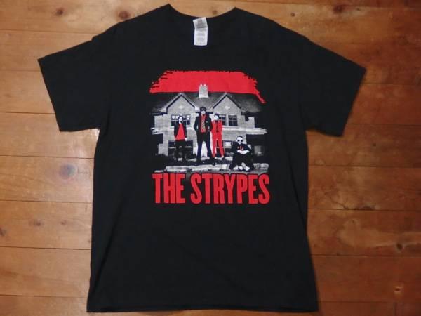美品 THE STRYPES ストライプス 2015 ジャパンツアーTシャツ フジロック2017出演 L 黒