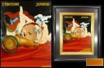《AA》城戸義郎肉筆「エロスの球体Ⅱ」油彩画F5号 真作保証