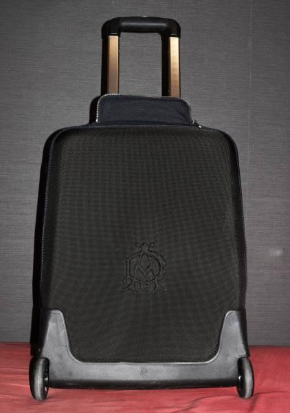 【美品】ダンヒル dunhill キャリーケース トラベルバッグ スーツケース ブラック