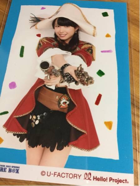℃-ute 中島早貴 写真 キュート トレジャーボックス ② ライブグッズの画像