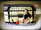 化妝包 - ◆送140◆USED◆レイコアオキ【 Reiko Aoki new York 】フラットポーチ◆
