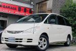 トヨタ エスティマT G HID サンルーフ 電動ドア 純正ナビ+ETC 左側電動ドア HID+コーナーポール ウッドコンビステアリング
