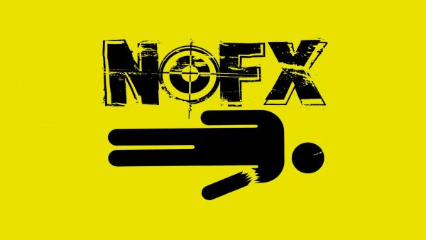 NOFX☆ノーエフエックス☆パンクスプリング☆海外 レア☆シルク調☆特大☆110x60cm☆ファブリック ポスター☆12