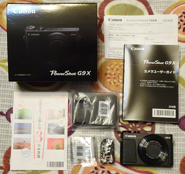 Canon キヤノン コンパクトデジタルカメラ PowerShot G9 X ブラック PSG9X(B) 新品同様品