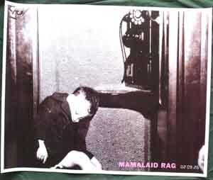 ママレイド ラグ 「MAMALAID RAG」 ポスター