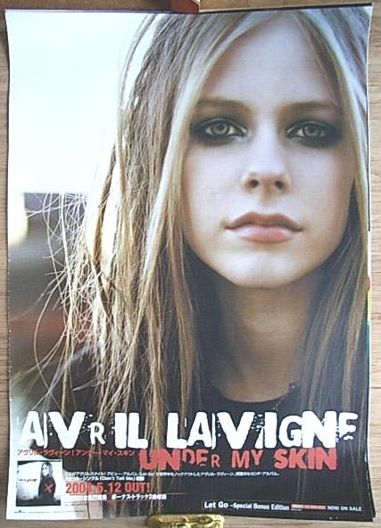アヴリル・ラヴィーン 「Under My Skin」 ポスター