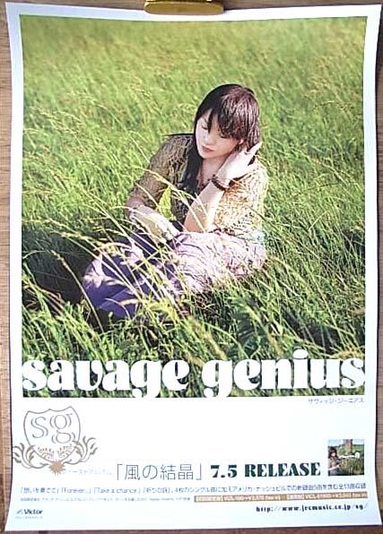 savage genius 「風の結晶」 ポスター