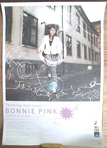 BONNIE PINK 「Thinking Out Loud」 ポスター