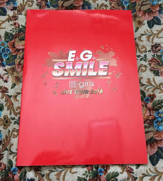 E.G SMILE E-girls 2016 パンフレット イーガールズ