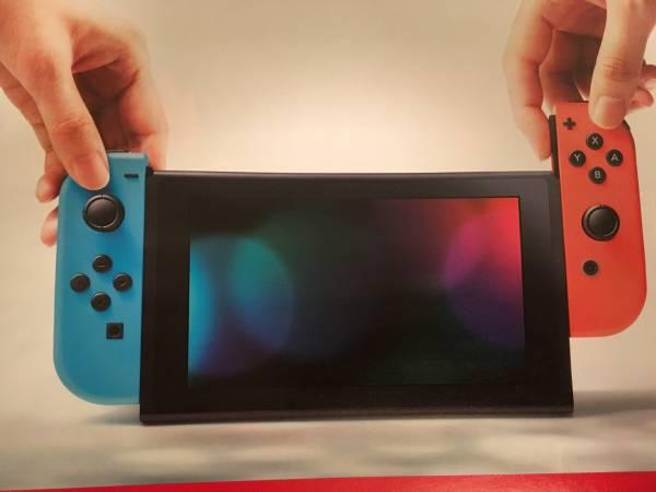 【カタログのみ】新品 Nintendo Switch Joy-Con (L) / (R) ネオン 本体 ゼルダの伝説 ブレス オブ ザ ワイルド Amazon限定特典無し グレー_画像2
