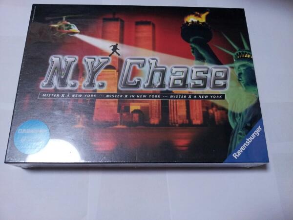 ボードゲーム N.Y.Chase ニューヨーク チェイス 日本語解説書付