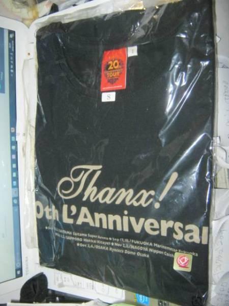 L'Arc~en~Ciel ラルクアンシエル /Thanx! Tシャツ S 新品 VAMPS TETSU HYDE KEN YUKIHIRO ZOMBIES D'ERLANGER X JAPAN 黒夢 DIE IN CRIES