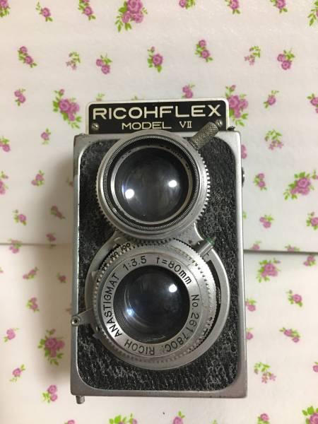 RICOHFLEX MODEL VII 二眼レフカメラ ジャンク_画像1