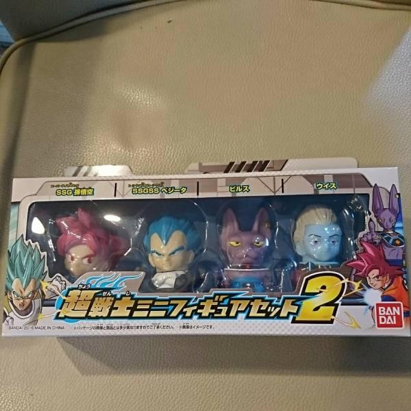 新品☆ドラゴンボールスーパー 超戦士ミニフィギュア2_画像1