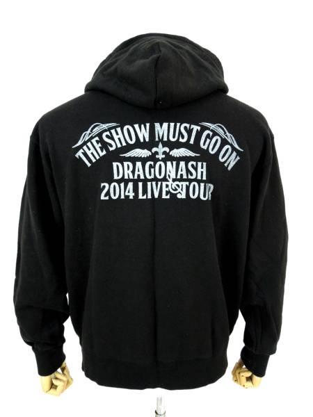 DRAGONASH 2014 LIVE TOUR スウェットパーカー L ドラゴンアッシュ 'THE SHOW MUST GO ON'